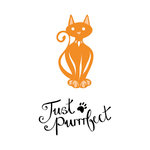 Tonic Studios - Rococo Petite Pampered Pets Die and Stamp Set - Just Purrfect