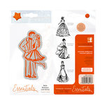 Tonic Studios - Belle Boutique Collection - Cling Mounted Rubber Stamps - Last Dance