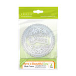 Tonic Studios - Sew Pretty Dies - Have a Beautiful Days Circle Frame