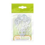 Tonic Studio - Baby Collection - Rococo Petite Dies - Baby Balloons