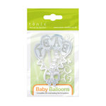 Tonic Studios - Baby Collection - Rococo Petite Dies - Baby Balloons