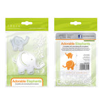 Tonic Studios - Baby Collection - Rococo Dies - Adorable Elephants