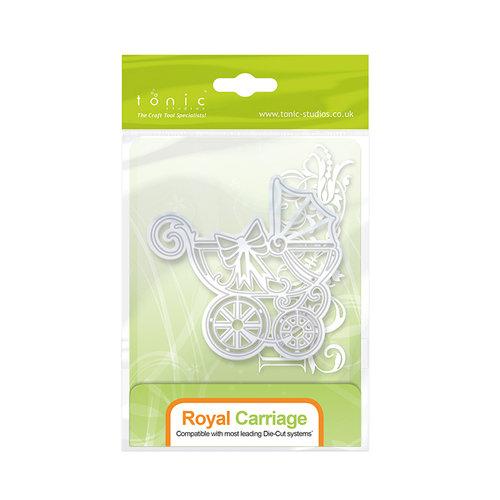Tonic Studios - Baby Collection - Rococo Dies - Regal Carriage