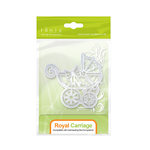 Tonic Studios - Baby Collection - Rococo Dies - Regal Carriage