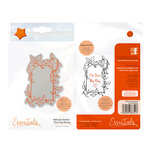 Tonic Studios - Delicate Detail Collection - Cling Mounted Rubber Stamps - Vine Tag