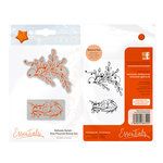 Tonic Studios - Delicate Detail Collection - Cling Mounted Rubber Stamps - Vine Flourish