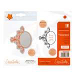 Tonic Studios - Delicate Detail Collection - Cling Mounted Rubber Stamps - Vintage Tag
