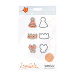 Tonic Studios - Marmalades World Collection - Dies and Cling Mounted Rubber Stamps - Accessory Set 2