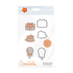 Tonic Studios - Marmalades World Collection - Dies and Cling Mounted Rubber Stamps - Accessory Set 3