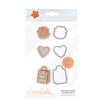 Tonic Studios - Marmalades World Collection - Dies and Cling Mounted Rubber Stamps - Accessory Set 4