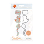 Tonic Studios - Marmalades World Collection - Dies and Cling Mounted Rubber Stamps - Accessory Set 5