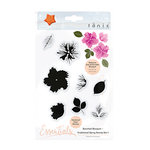Tonic Studios - Bunched Bouquet Collection - Clear Acrylic Stamps - Traditional Spray - One
