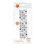 Tonic Studios - Sentimental Strip Collection - Clear Acrylic Stamps - Just a Note to Say