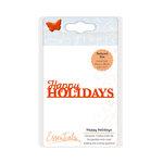 Tonic Studios - Dies - Christmas Miniature Moment - Happy Holiday