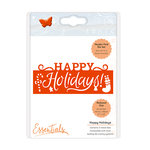 Tonic Studios - Christmas Header Fold Dies - Happy Holidays