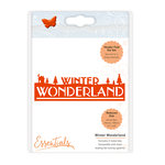 Tonic Studios - Christmas Header Fold Dies - Winter Wonderland