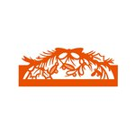 Tonic Studios - Christmas Header Fold Dies - Mistletoe Bow