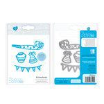 Tonic Studios - Celebrations Collection - Rococo Dies - Birthday Bundle
