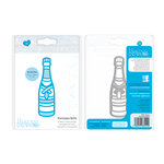 Tonic Studios - Celebrations Collection - Rococo Dies - Champagne Bottles
