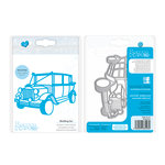 Tonic Studios - Celebrations Collection - Rococo Dies - Wedding Car