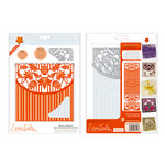 Tonic Studios - Idyllics Embossing Folder and Dies Set - Blossoms and Battens