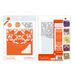 Tonic Studios - Idyllics Embossing Folder and Dies Set - Marbled Mosaic