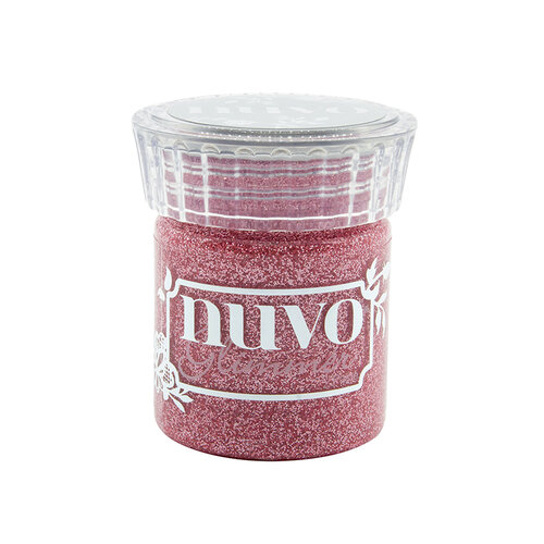 Nuvo - Blue Blossom Collection - Glimmer Paste - Strawberry Champagne
