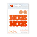 Tonic Studios - Mandala Moments Collection - Dies and Cling Mounted Rubber Stamps - Hugs