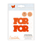 Tonic Studios - Mandala Moments Collection - Dies and Cling Mounted Rubber Stamps - For