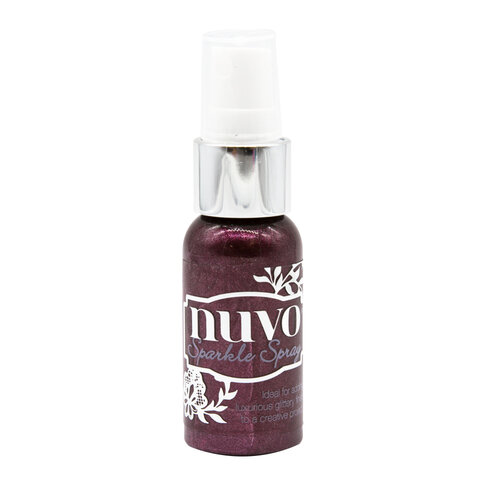 Nuvo - Tropical Paradise Collection - Sparkle Spray - Amethyst Shimmer