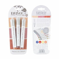 Nuvo - Glitter Markers - Moroccan Sunset - 3 Marker Set