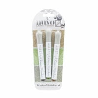Nuvo - Glitter Markers - Tropical Rainforest - 3 Marker Set