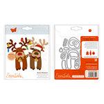 Tonic Studios - Christmas - Metal Dies - Buildables - Rudolf Reindeer