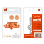 Tonic Studios - Christmas - Sentiments Die Set - Serif Merry Christmas