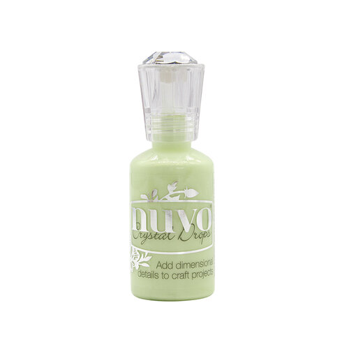 Nuvo - Woodland Walk Collection - Crystal Drops - Soft Mint