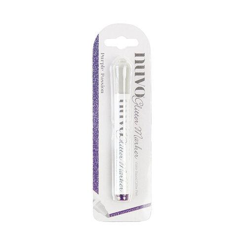 Nuvo - Glitter Marker - Purple Passion