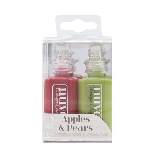 Nuvo - Vintage Drops - Apples and Pears - 2 Pack Set