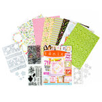 Tonic - Cardmaking Inspiration Guide - Includes Embossing Folder, Paper, Dies, Stamps