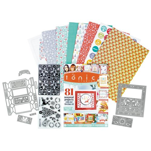 Tonic - Cardmaking Inspiration Guide - Includes Embossing Folder, Paper, Die, Stamp