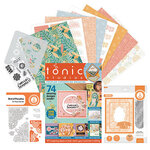 Tonic - Cardmaking Inspiration Guide - Includes Stencil, Paper, Dies, Stamps - 255 Pieces