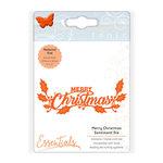 Tonic Studios - Christmas - Sentiments Die Set - Merry Christmas