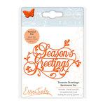 Tonic Studios - Christmas - Sentiments Die Set - Seasons Greetings