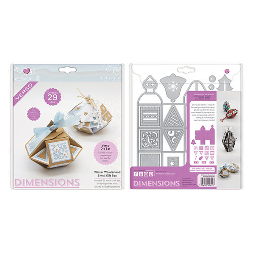 Tonic Studios - Small Gift Box Die Set - Winter Wonderland