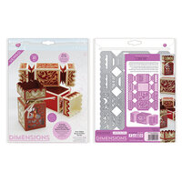 Tonic Studios - Cracker Box Die Set - Deco-Edged Square