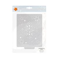 Tonic Studios - Christmas - Stencils - Snowflake Flurry