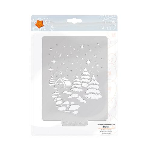 Tonic Studios - Christmas - Stencils - Winter Wonderland
