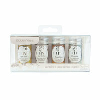 Nuvo - Pure Sheen Glitter - Golden Years - 4 Pack