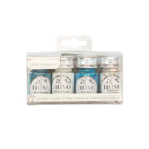 Nuvo - White Wonderland Collection - Pure Sheen - White Wonderland - 4 Pack