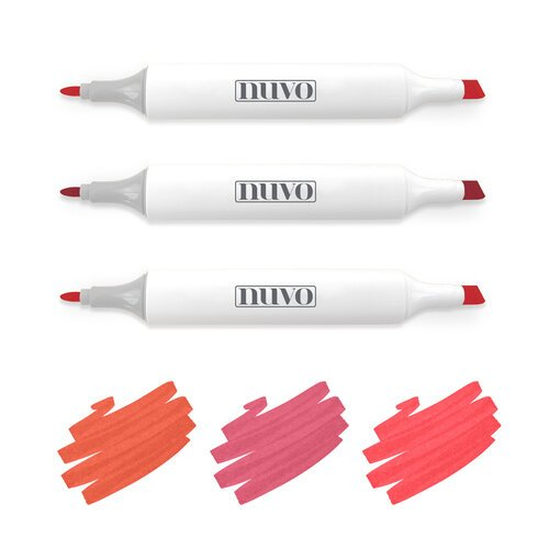 Nuvo - Creative Pens - Rich Reds