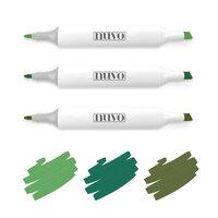 Nuvo - Creative Pens - Woodland Greens